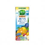 広島・愛媛の柑橘使用「カゴメ 野菜生活100 瀬戸内柑橘ミックス」