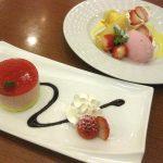 ココス 苺のムースケーキ&苺のロールクレープ_