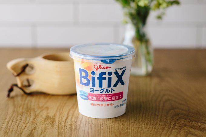 グリコ乳業「BifiXヨーグルト」
