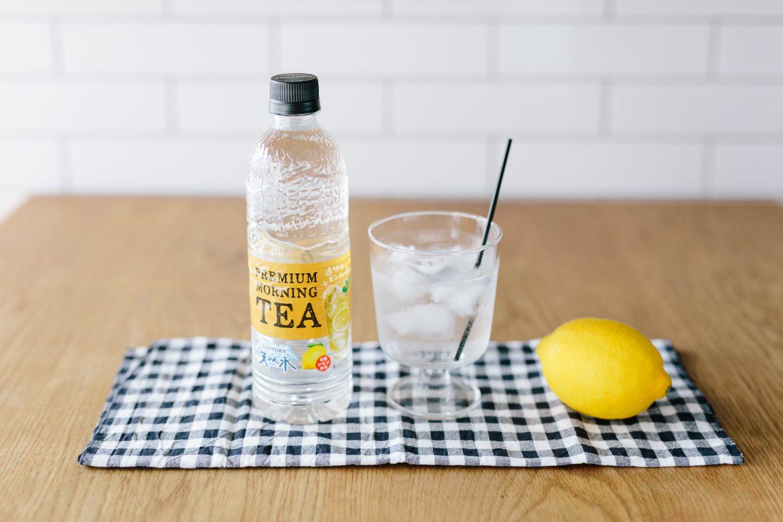 サントリー天然水 PREMIUM MORNING TEA レモン
