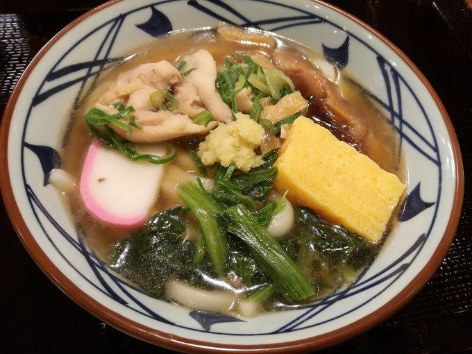 丸亀製麺の季節限定メニュー「五目うどん」