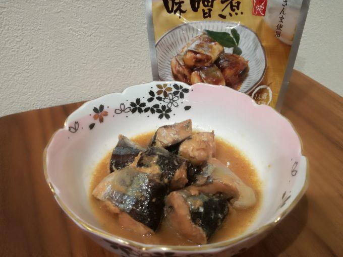 ほっとできるお惣菜。カルディコーヒーファーム「さんまの味噌煮」