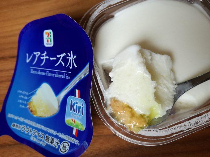 食べないと後悔します!セブンイレブン「レアチーズ氷」