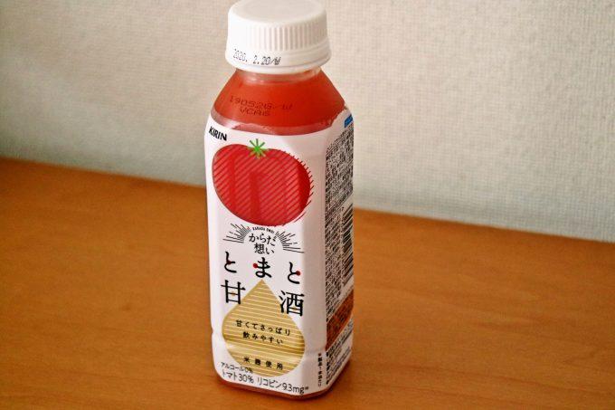トマトと甘酒の新鮮な組み合わせで熱中症対策もOK!