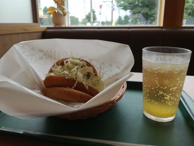 期間限定メニュー!モスバーガー「冷製カレーチキンバーガー」「瀬戸内産はっさくレモン ジンジャーエール」