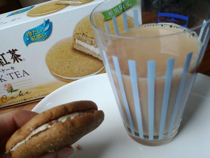 冷たい紅茶と楽しみたい。森永製菓「午後の紅茶 ミルクティーケーキ」