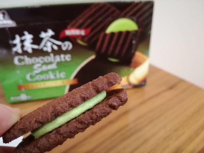 大人テイストクッキーのご提案。森永製菓「抹茶のショコラサンドクッキー」