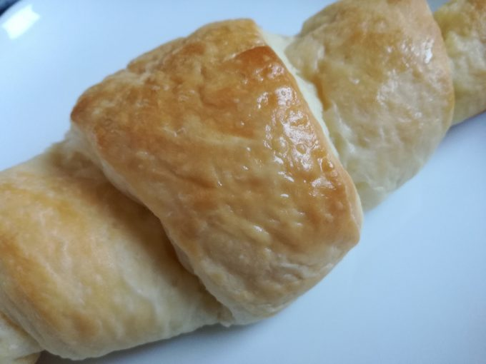 食感しっとり、米粉のパン。フジパン「お米のクロワッサン」