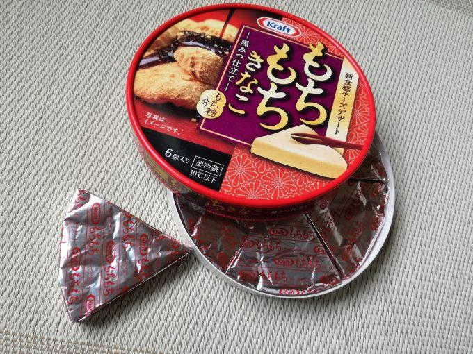 新食感チーズデザート。森永乳業「クラフト もちもちきなこ6P -黒みつ仕立て-」