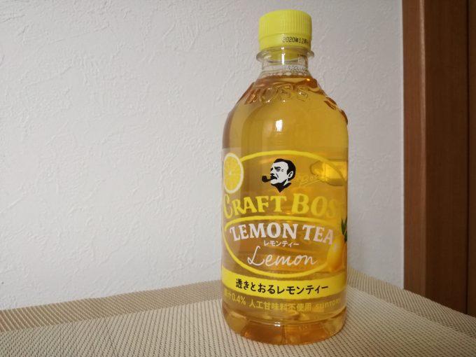 めちゃくちゃ気分スッキリ味!サントリー「クラフトボス レモンティー」