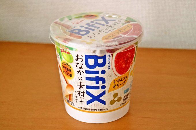 食事代わりになるヨーグルト「BifiX おなかに素材+ヨーグルト いちじく&オリーブ」