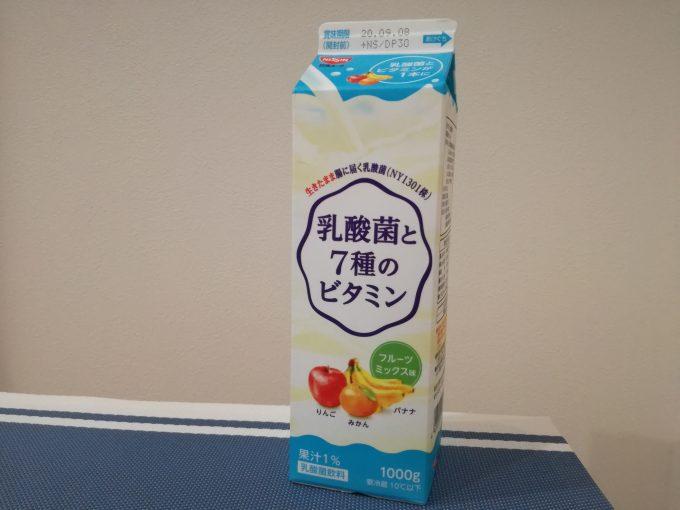 甘さすっきり!日清ヨーク「乳酸菌と7種のビタミン」