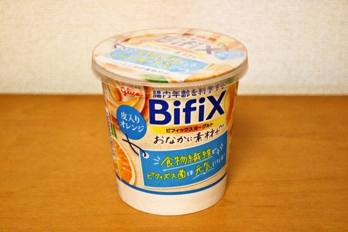 腸内環境を整えよう「BifiXおなかに素材+ヨーグルト」