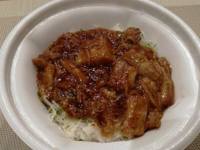 本場中国の味!すき家「本格中華の豚角煮丼弁当」